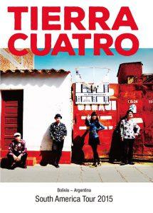「Tierra Cuatro DVD 南米ツアー2015」